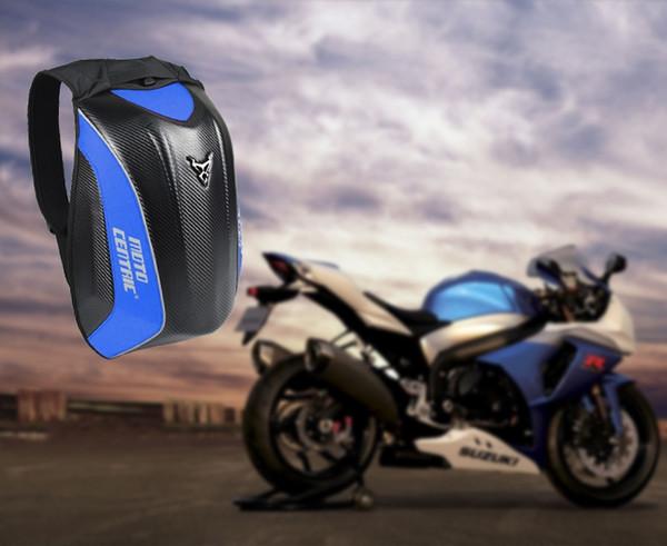 Schwarz Herren-Motorrad-Beutel Wasserdichte Motorrad Rucksack Touring Gepäcktasche Motorrad-Taschen Moto Magnet-Tank mochila moto