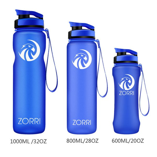 800ml Cycling Water Bottle Cycle Sports Gym Drinking Outdoors Travel Bidon White