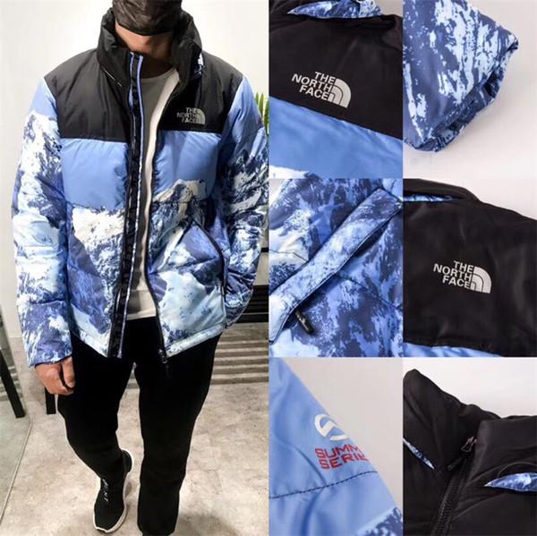 Marque Veste d'hiver Le Blanc Bleu Baltoro North Mountain Face Down Jacket Hommes Femmes Manteaux d'hiver Puffer Parka Hauts manteau chaud C102502