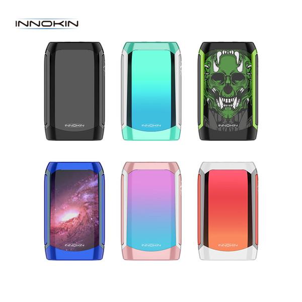 Innokin Proton Mini 120W Box Mod Built-in 3400mAh batteria 510 Discussione 1.45 pollici TFT colorato in forma Ajax Serbatoio 100% Genuine
