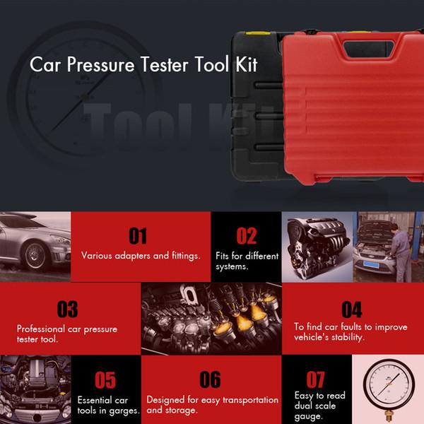 Alta qualidade TU-113 Injector De Combustível Injector Tester Medidor De Pressão de Teste de Gasolina 0-100psi Frete grátis