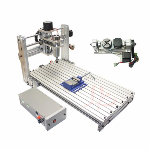Engraving machine DIYCNC 3060 metal 5axis CNC Router /Engraving Drilling and Milling Machine