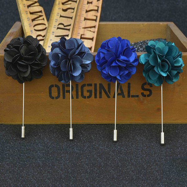 Anstecknadeln für Mdiger 's Broschen Blumen Ehrennadel für Männer Anzug Brosche Bunte Label-Pins Upscale Broschen BlumePin Mode