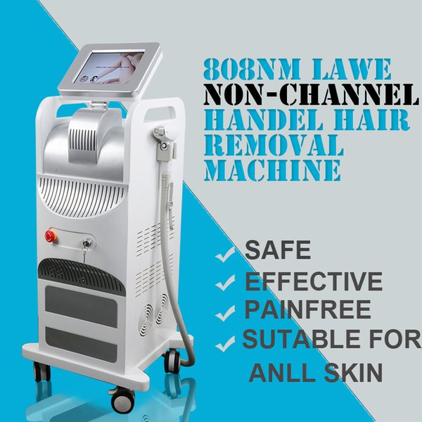 2019 New 808nm Diode Laser hair Removal machine NON-CHANNEL Handle more than 20 million shots 808nm laser machine
