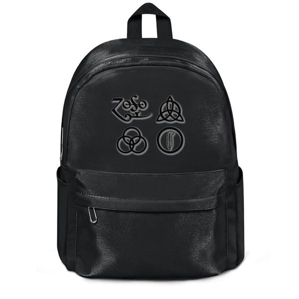 Led Zeppelin Hard rock black package,backpack,backpacks for girls travel package Casual backpack Design College package School backpack
