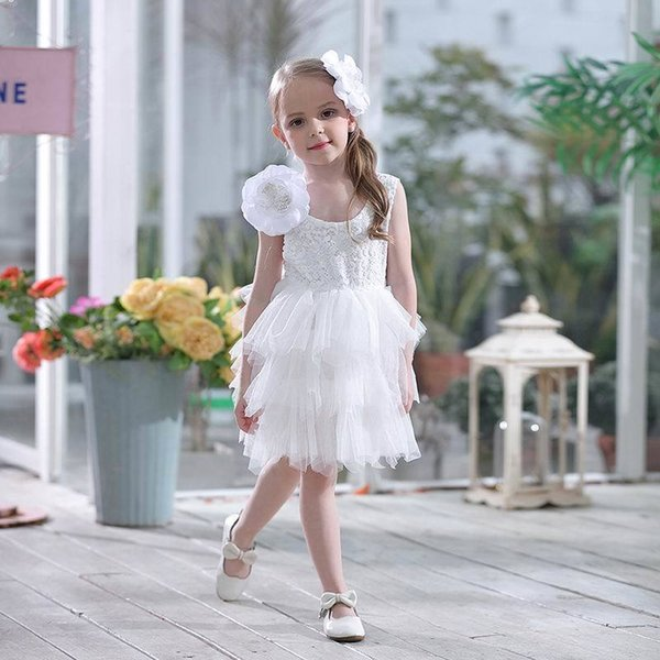 Fleur blanche 2pcs