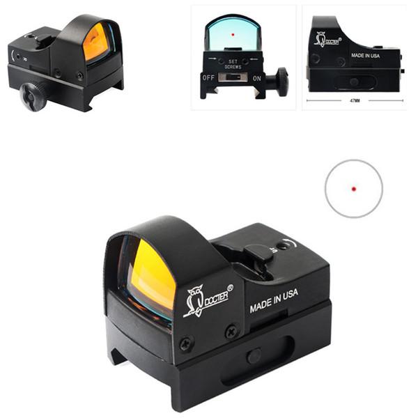 Pistolet à air tactique pour la chasse en plein air JH605 optique holographique optique point rouge interne point de vue réflexe point rouge visant la base du pistolet fusil portée
