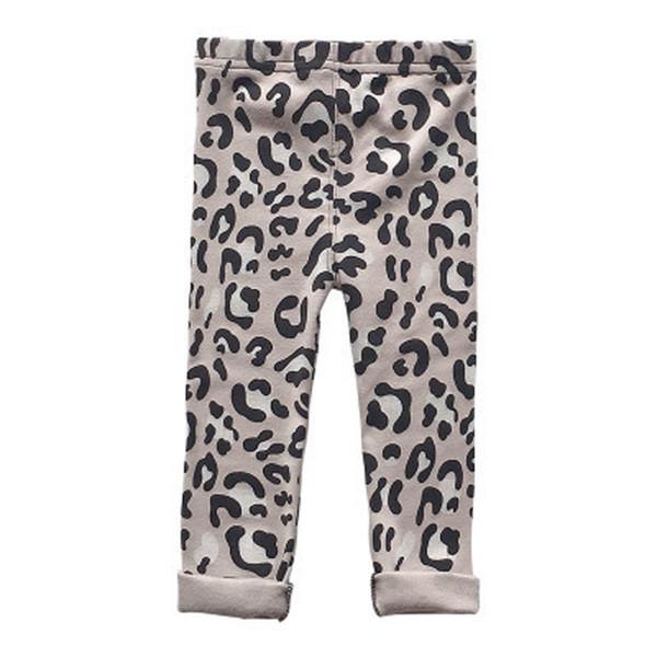 Yeni leopar baskı Çocuk Tayt Pamuk Kız Tozluk Kız Tayt Çocuk Pantolon Rahat Pantolon çocuklar giysi tasarımcısı çocuk giyim A4468