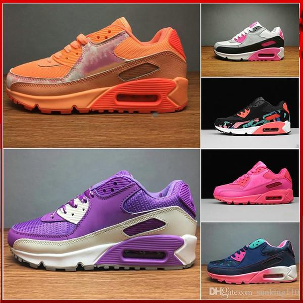best value hot new products large discount bonito Bienvenido Casual Comprar Nike Air Max 90 Mujer Brillante ...
