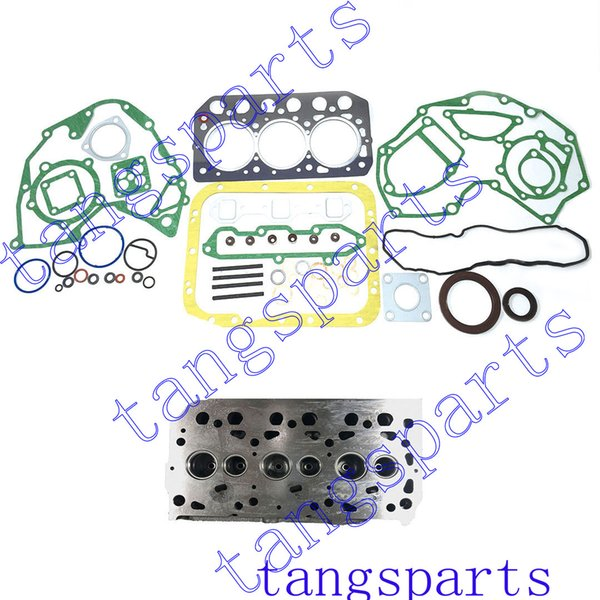 top popular New S3L Cylinder head with engine gasket kit For Mitsubishi engine fit mahindra 2015 tractor engine 2019
