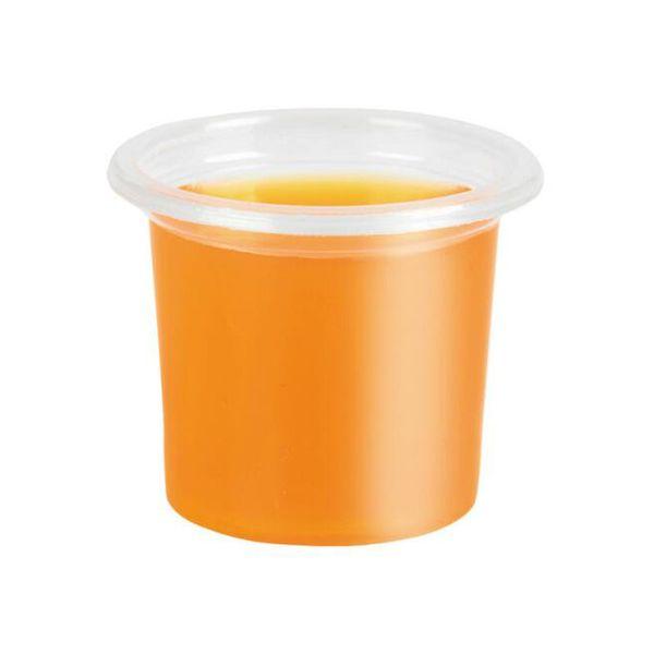 20 مل كأس المتاح صلصة شفافة مصغرة الآيس كريم هلام حليب القهوة سوبر ماركت تذوق أكواب ZC0769