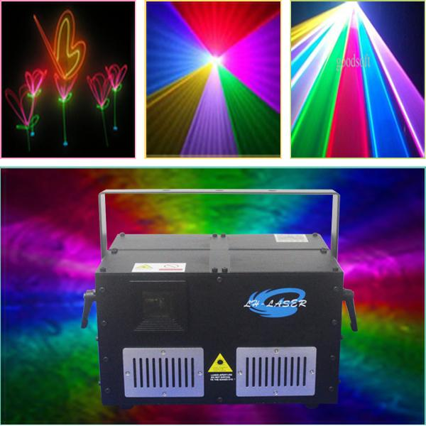 3D laser projector RGB 2d+3d dj equipment sound lights projector 10W rgb RGB full color laser light