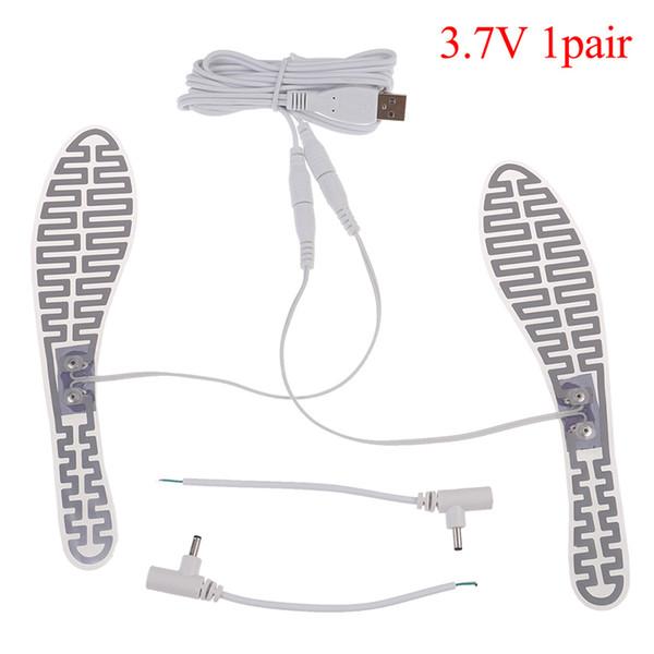 1 pair 5V USB Heated Gloves Pad luva calefaccion guantes Electric USB Gloves Heater Heated Carbon Fiber Cloth 4x18cm