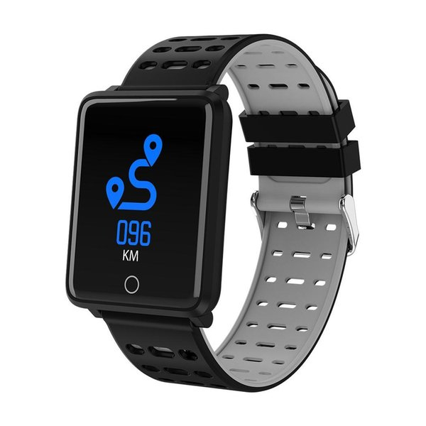 Smart Watch Step Counter Electronic Sports Fitness Tracker IP68 Touch Unisex USB 2.0 Bracelet 16mb Watch