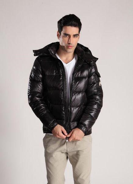 Chaqueta de lujo para hombre Deisgner ganso manera del invierno mujeres de los hombres de alta Qulaity abrigos de invierno abrigos esquimales Prendas de vestir exteriores para hombre con capucha 5 colores S-3XL