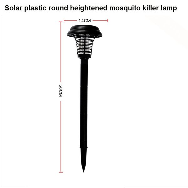 Round heightened mosquito killer