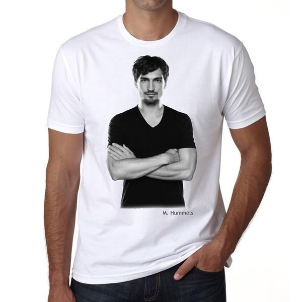 Маты Hummels футболка мужская футболка тройники пользовательские Джерси футболка