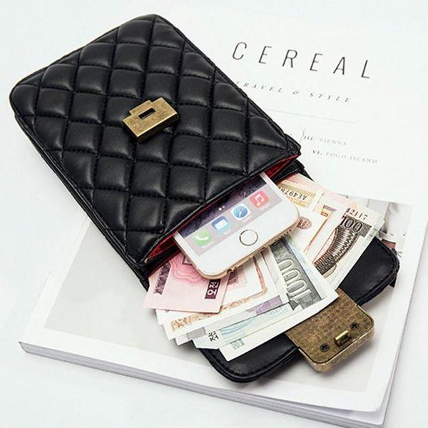 SAFEBET Portable WomenMobile Phone Bag Crossbody Bag Travel Document Organizer Passport Tassel Fashion Wallet