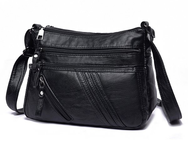 New Fashion Women Faux leather Flower shoulder messenger bag Lady travel business cross body bags female Girls Mother Gift organizer bags
