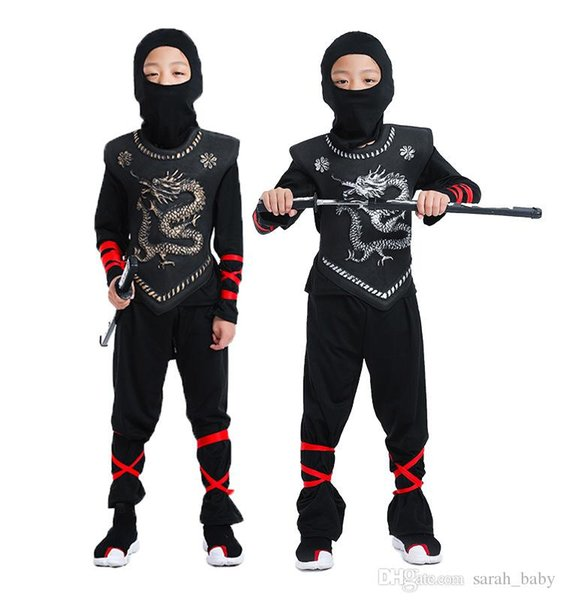 2018 new COSPLAY Halloween show Costume Children Naruto Costume Samurai Assassin Set Baby & Kids Clothing Special Occasions online