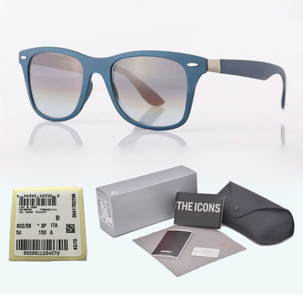New arrival Classic Brand Designer sunglasses Men Women plank frame Metal hinge uv400 glass lens Retro Eyewear with box and label