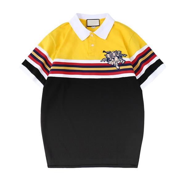 Marca Homens Designer de Camisas Polo Porco Bordado de Verão de Manga Curta Tshirts Moda Casual Blusa Polos Tops T-S-2XL