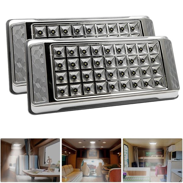 2pcs 12v indoor ceiling car lights rv spot lights yacht led reading for rv, yacht, home, camper car