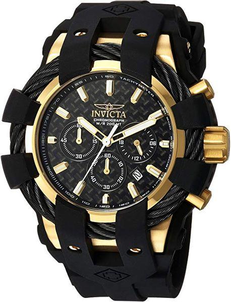 Oringal Invicta Hombres Casual reloj Modelo de color Negro