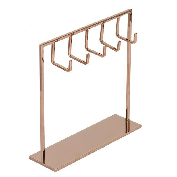 Jewelry Rack Stand Up Jewelry Rack Display Bracket Hanging Kit Earring Hook Kit Necklace Rack For Display Storage Organizer