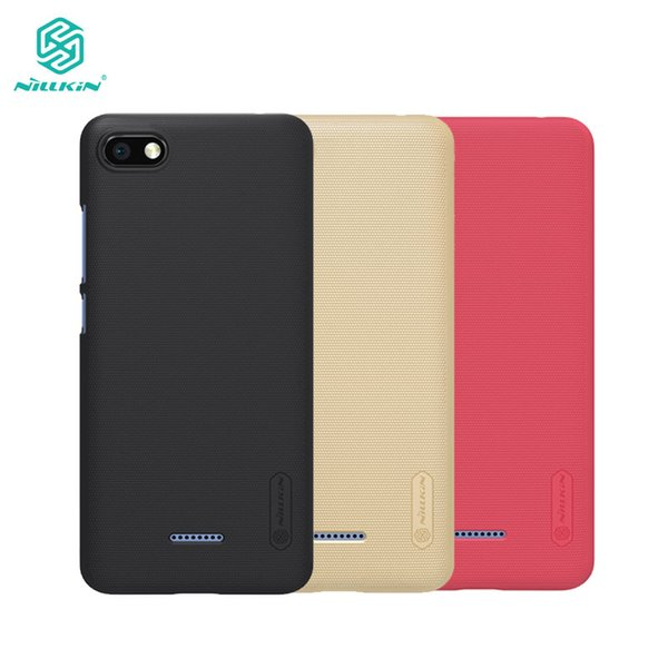wholesale Redmi 6A Case Nillkin Frosted Shield PC Back Cover Case For Xiaomi Redmi 6A 5.45 inch Gift Phone Holder