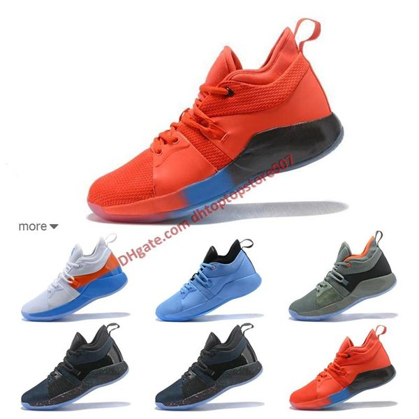 b090c7f2ea9c Wholesale PG 2.5 PlayStation Taurus Road Master Basketball Shoes for Paul  George II PG2 2s PS