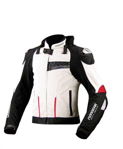 2018 new motorcycle protective jacket breathable mesh racing jacket men's road riding 2 color size M-3XL