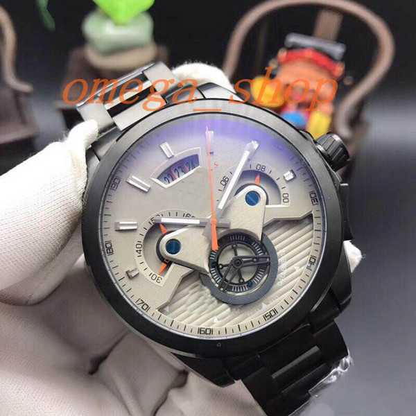 Mejor venta SLS China 43 MM Caso Cuarzo AAA Reloj de hombre Cronógrafo Venta al por mayor Moda de lujo Nuevo Reloj de acero inoxidable para hombre