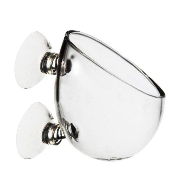 Aquarium Mini Kristallglas Topf Aquarium Pflanzer Aquakultur Tasse Dekoration Polka Wasser Topf Wasserpflanzzylinder Tasse