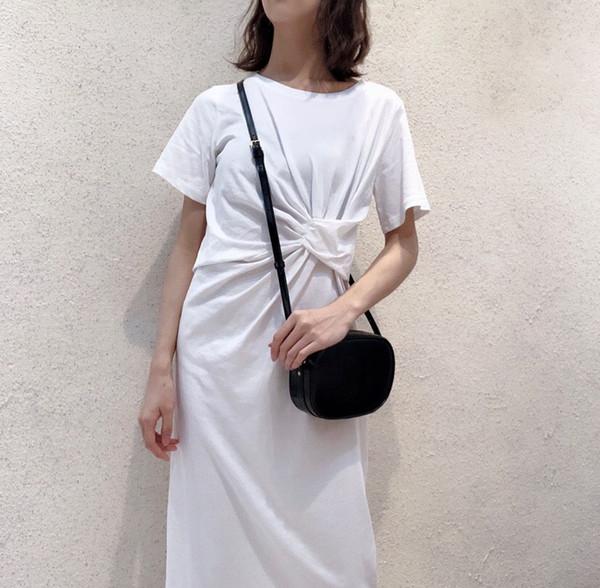 Yeni Sıcak Satış Moda Mini hakiki deri kamera çantası küçük yuvarlak çanta omuz çantaları bayanlar siyah crossbody çanta Küresel ücretsiz nakliye
