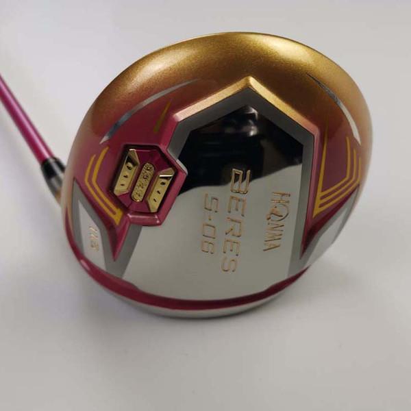Women's High quality Golf Clubs Drivers S-06 Golden ball Head (11.5 loft)Graphite shaft Free shipping
