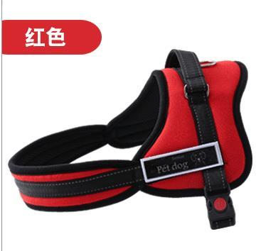 Dog Harness Adjustable Vest Leashes Anti Explosion Puppy Collar Leahes Reliable Leads Accessories Medium Large Pet Supplies 5 Designs