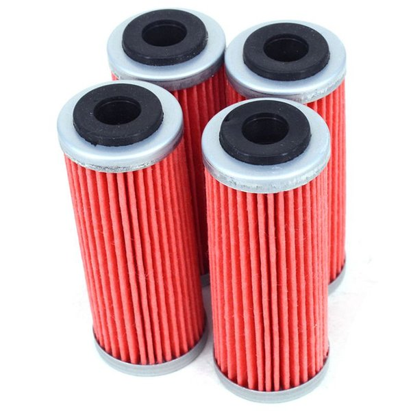 4Pcs Motorcycle Oil Filter Cleaner For Exc-F Sx-F Xc-F Exc Xcf-W Smr Xc-W Exc-R Xc-Wr 250 300 350 400 450 505 530 Dirt Bike