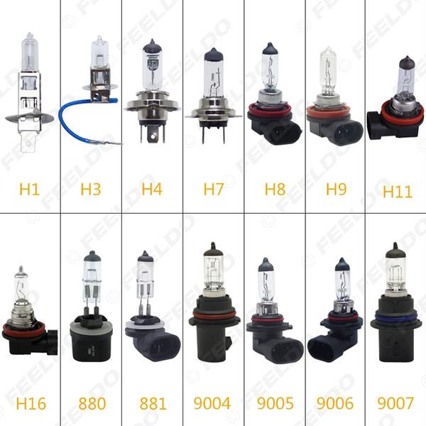 2pcs H1 coche / H3 / H4 / H7 / H8 / H9 / H11 / H16 / 880/881/9005/9006 55W / 80W 100W Blanca Niebla Luces del bulbo de halógeno # 2861