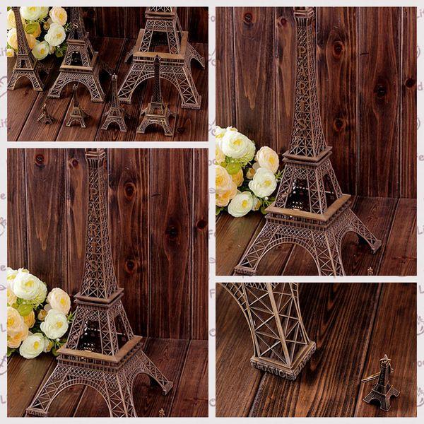 3D Paris Eiffel Tower Keychain Pendant Metal Keyring Souvenir Key Buckle Fashion Novelty Gadget Trinket Gift French Style 3 Size