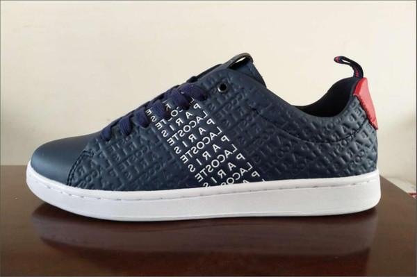 hombres 2019LACOSTE zapatos deportivos casuales moda casual Botas de negocios Zapatos Zapatillas Scarpe di tela Mujeres Chaussures zapatillas de diseñador de lujo