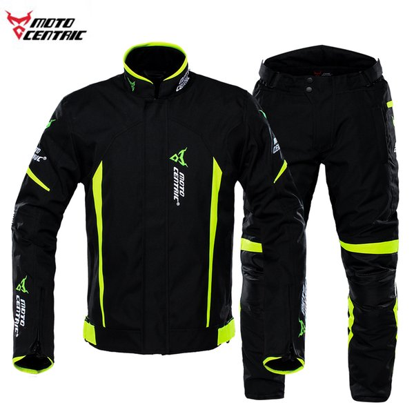 Motorcycle Jacket Motocross Pants Racing Riding Jacket Suits Waterproof Racing Suit Motorcycle Rally Moto Security