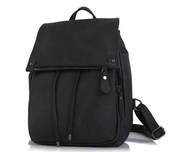 2019 kanye supr New fashion solid color ladies bag trend pu leather handbags backpack popular men and women notebook bag backpack