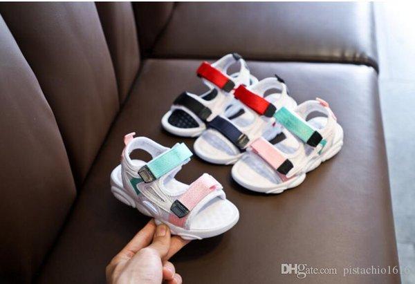 Children Kids Boys Sandals For Girls Leather Baby Ventilation Children's Shoes Catamite Grinningly Sneakers Girl Children Tide Fashion