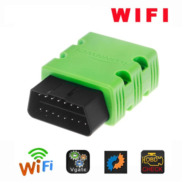 KONNWEI KW902 OBDII WIFI OBD Scanner Car Code Reader Detector for IOS Android Windows Service Car Accessories