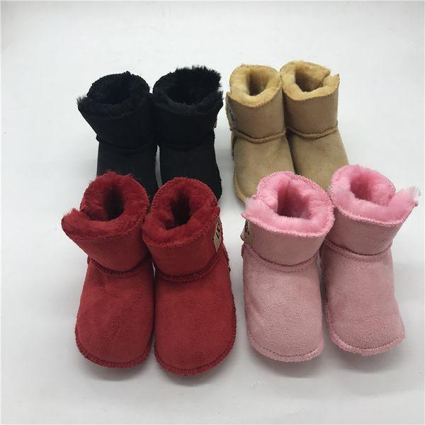 Unisexe Bébé Bottes De Neige Chaussures D'hiver Pour Bébés Bottes De Fourrure Bottes Pour Bébés à Vendre 0-12M Chaussures Pour Bébé Idées Cadeaux Bébés Premiers Marcheurs