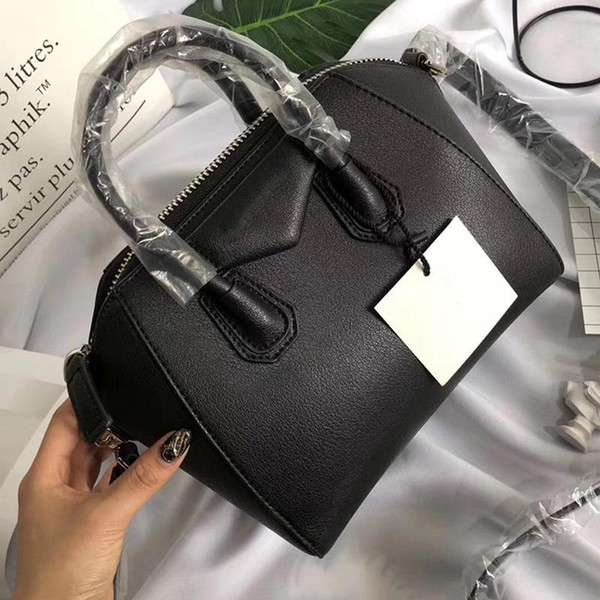 Antigona Mini-Einkaufstasche berühmten Marken Umhängetaschen aus echtem Leder Handtaschen Mode Umhängetasche weiblichen Business-Laptop-Taschen 2019 Geldbörse
