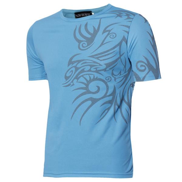 MIARHB #ZG4 NEW HOT 2019 Free Ship Fashion New Short Sleeve T-Shirts Men Sports Tees Slim Design Bottoming Shirt