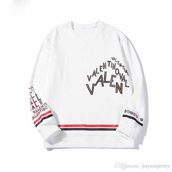 2019 Luxury hoodie Mens high quality designer fleece sweatshirts Free shipping embroidery hip hop Pullover New Hoodies