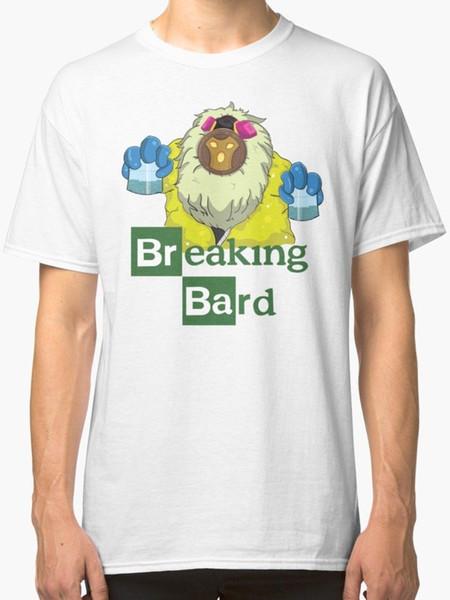 Breaking Bard - League Of Legends T-Shirt Men's White harajuku Summer 2018 tshirt